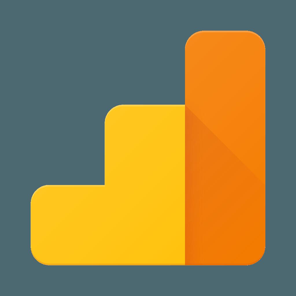 Logo serwisu Google Analytics