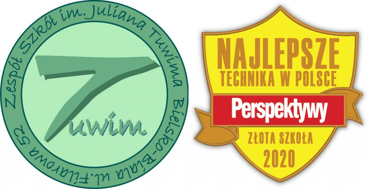 Logo - Zespół Szkół im. Juliana Tuwima w Bielsku-Białej