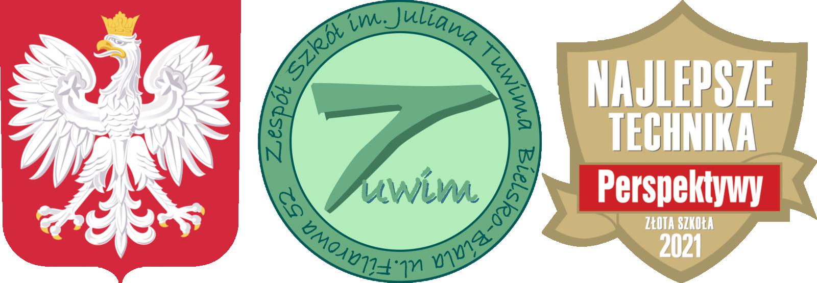Logo szkoły Zespół Szkół im. Juliana Tuwima w Bielsku-Białej