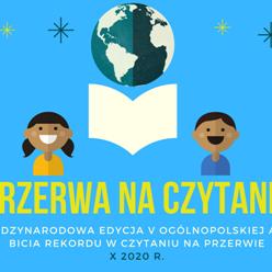 Obrazek newsa Przerwa na czytanie