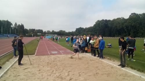 Obrazek galerii Zawody sportowe w ramach szkolnej ligi lekkoatletycznej