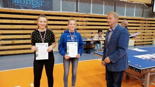 Obrazek galerii Zawody tenisa stołowego dziewcząt i chłopców w ramach Licealiady Szkół Bielskich